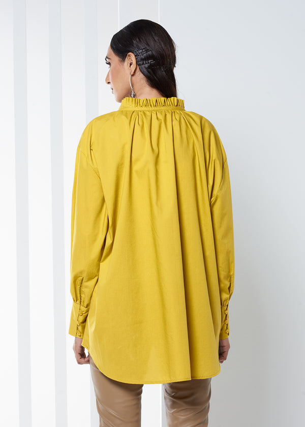 Draped Peasant Top