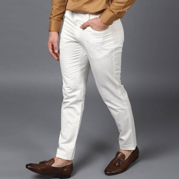 Ivory Primo Strech Trousers