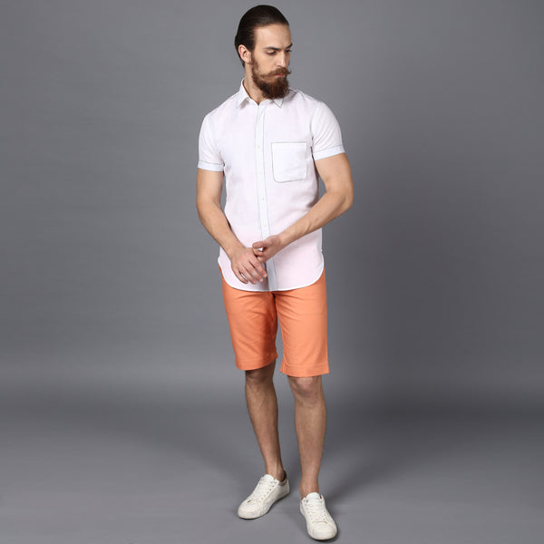 Orange Bar Shorts
