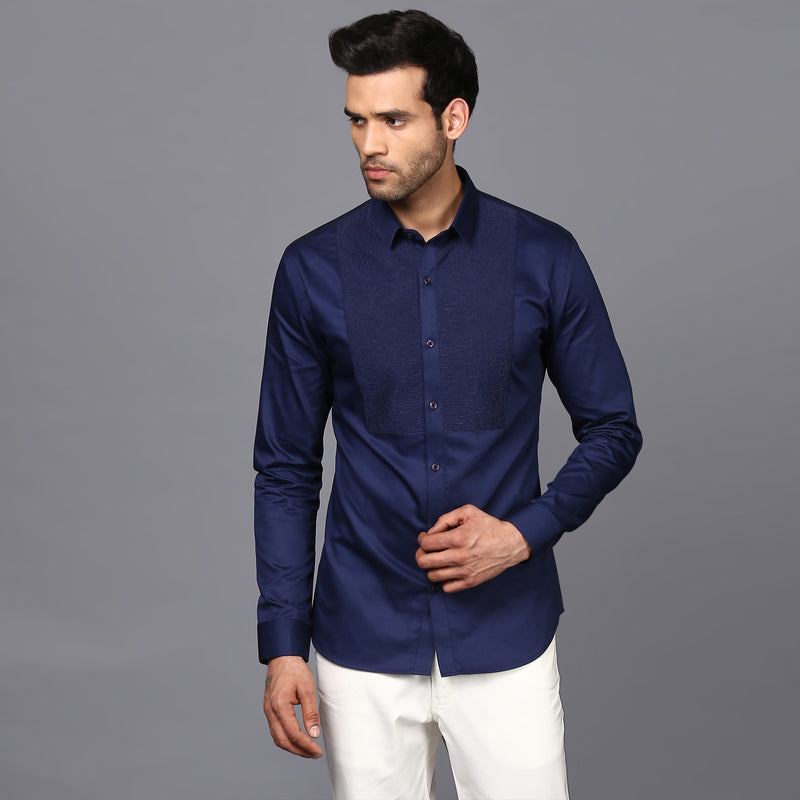 BIB TAGAI SHIRT IN ROYAL BLUE