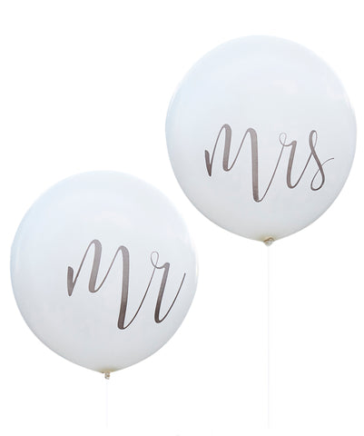Globos Mr & Mrs