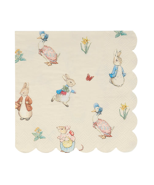 Servilletas Peter Rabbit & friends