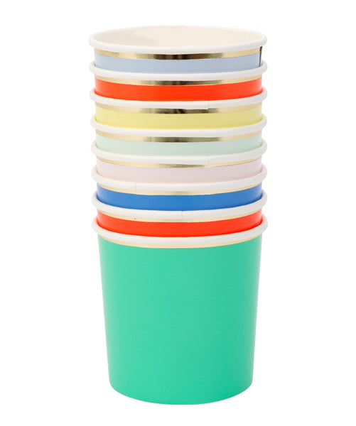 Vasos mini multicolor