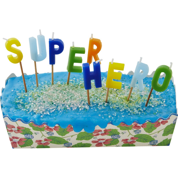Velas superhéroes