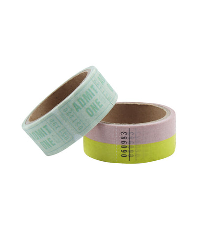 Washi Tape Tickets