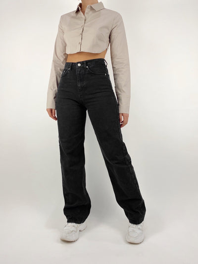 Charly Wide Leg High Rise Jeans - Vamp Official
