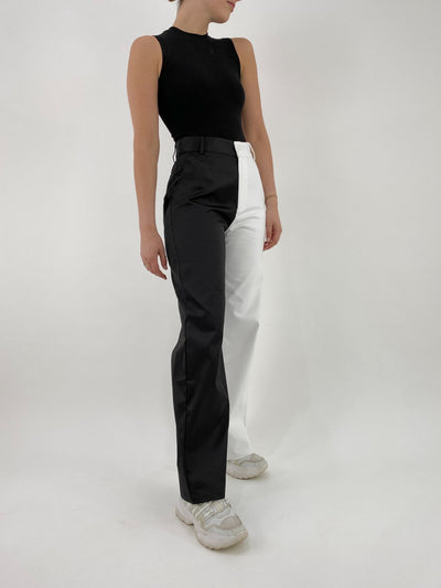 Film Series Two Tone Trouser - Vamp Official