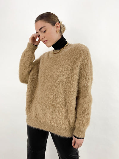 Milk & Honey Ultra Fuzzy Sweater - Vamp Official