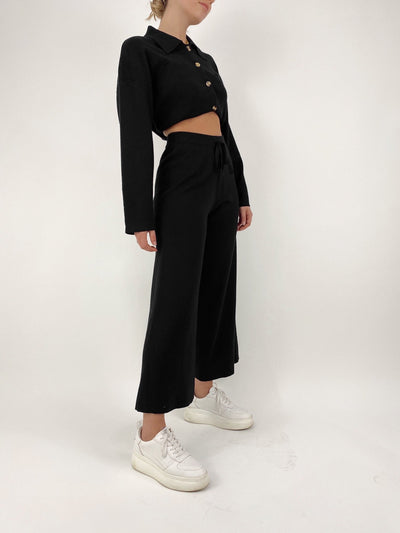 Perfect Match Wide Leg Lounge Pants - Vamp Official