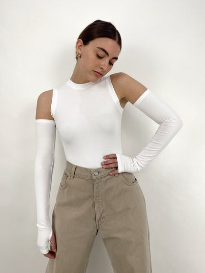 Sporty Spice Bodysuit And Sleeves - Vamp Official