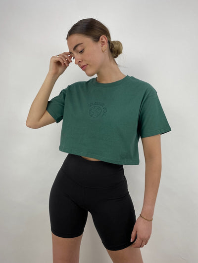 Thank You Mother Earth Cropped Tee - Vamp Official