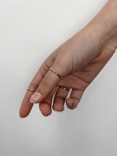 To Eternity Simple Dainty Ring - Vamp Official