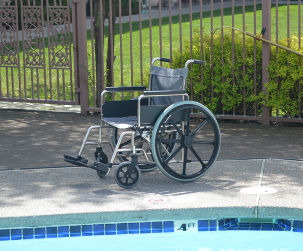 Stainless Steel Aquatic Wheelchairs,F-18SSWC - Wheelchairs electric  -Rollators - Medical supply stores