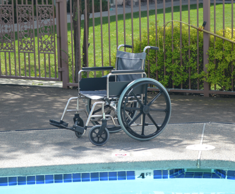 Stainless Steel Aquatic Wheelchairs,F-24SSWC - Wheelchairs electric  -Rollators - Medical supply stores