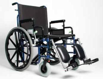 FREELANDER TM  2.0 HEAVY DUTY WHEELCHAIR (Standard Footrests),FRD2-B24x18-SL - Wheelchairs electric  -Rollators - Medical supply stores