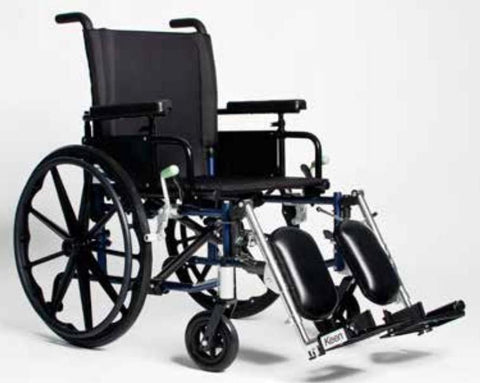 FREELANDER TM  2.0 HEMI LIGHTWEIGHT WHEELCHAIR (Elevating Legrests),FRD2-H20x18-EL - Wheelchairs electric  -Rollators - Medical supply stores
