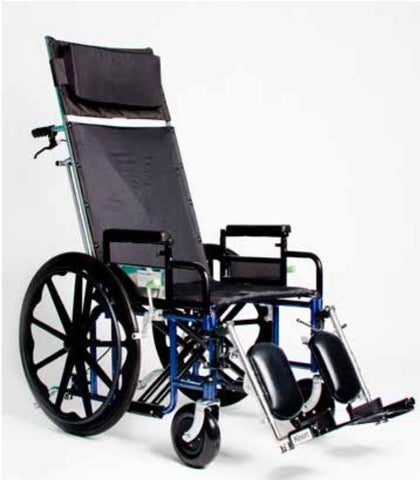 FREELANDER TM  2.0 RECLINING WHEELCHAIR (Standard Footrests), FRD2-R16x18-SL - Wheelchairs electric  -Rollators - Medical supply stores
