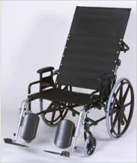 GENDRON Bariatric XL Reclining Wheelchair ,EFFGE672620R-EL - Wheelchairs electric  -Rollators - Medical supply stores