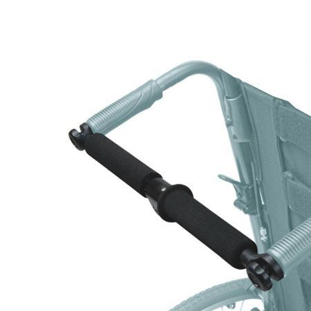 "Foldable Rigidifying Push Bar for 16"",18"" & 20''  Width Wheelchairs - Wheelchairs electric  -Rollators - Medical supply stores"