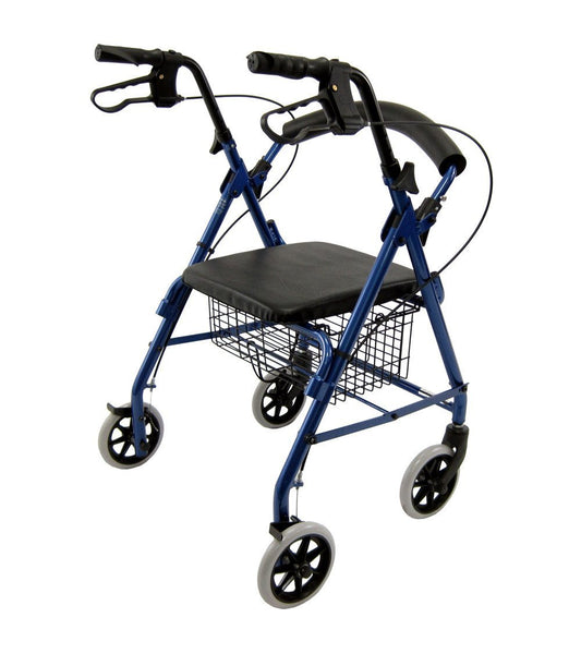 Rollator, R-4100 – 11 lbs,R-4100-BL - Wheelchairs electric  -Rollators - Medical supply stores
