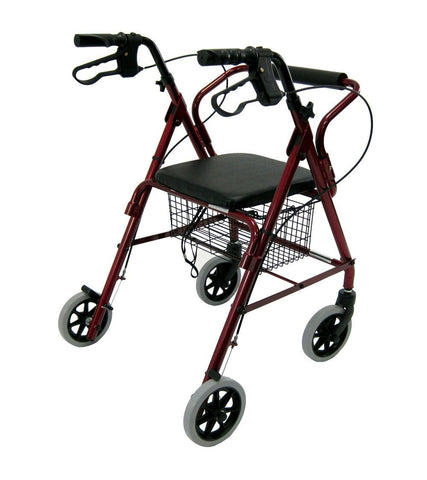 Rollator, R-4100N – 11 lbs,R-4100N-BL - Wheelchairs electric  -Rollators - Medical supply stores