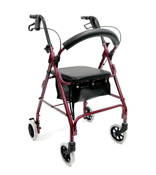 Rollator, R-4600 – 12 lbs,R-4600-BL - Wheelchairs electric  -Rollators - Medical supply stores