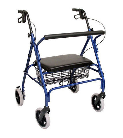 Rollator, R-4700 – 24 lbs,R-4700-BL - Wheelchairs electric  -Rollators - Medical supply stores