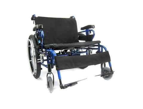 Bariatric Wheelchair, KM-BT10 – 22″ to 30″ Seat – 63 lbs*,BT-10-2220W - Wheelchairs electric  -Rollators - Medical supply stores