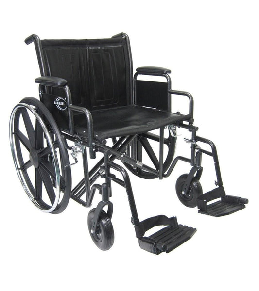 Bariatric Wheelchair, KN-924-26-28W – 56 lbs*,KN-924W-APT - Wheelchairs electric  -Rollators - Medical supply stores