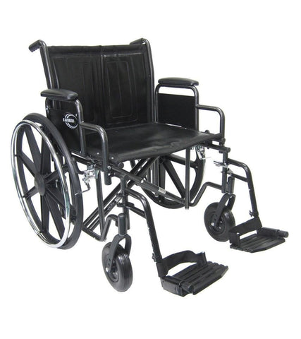 Bariatric Wheelchair, KN-924-26-28W – 56 lbs*,KN-926W - Wheelchairs electric  -Rollators - Medical supply stores