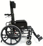 Lightweight (manual) Wheelchair, KM-5000 Self Propel – 36 lbs,KM5000F18B-MS - Wheelchairs electric  -Rollators - Medical supply stores
