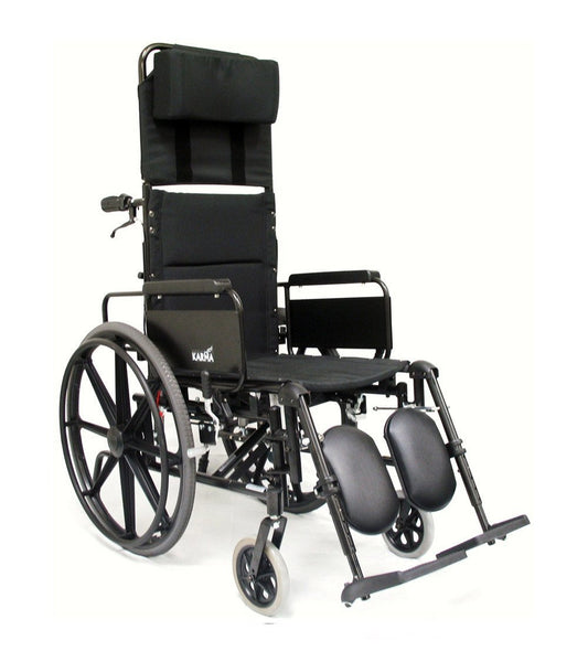 Lightweight (manual) Wheelchair, KM-5000 Self Propel – 36 lbs,KM5000F22W - Wheelchairs electric  -Rollators - Medical supply stores
