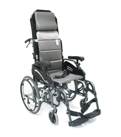 Lightweight Tilt Wheelchair, VIP-515 – 38 lbs,VIP515-18 - Wheelchairs electric  -Rollators - Medical supply stores