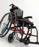 "S-Ergo 105 16"" seat Ergonomic Wheelchair with Fixed Footrest in Silver,S-ERGO105F16SS - Wheelchairs electric  -Rollators - Medical supply stores"