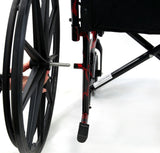 Standard Wheelchair, LT-770Q Red Streak – 37 lbs,LT-770Q - Wheelchairs electric  -Rollators - Medical supply stores