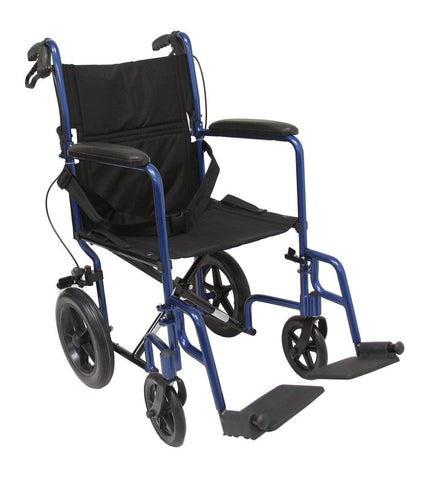 Transport Wheelchair, LT-1000 – 23 lbs,LT-1000HB-BL - Wheelchairs electric  -Rollators - Medical supply stores