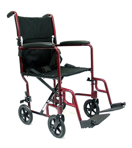 Transport Wheelchair, LT-2000 – 19 lbs,LT-2019-BK - Wheelchairs electric  -Rollators - Medical supply stores