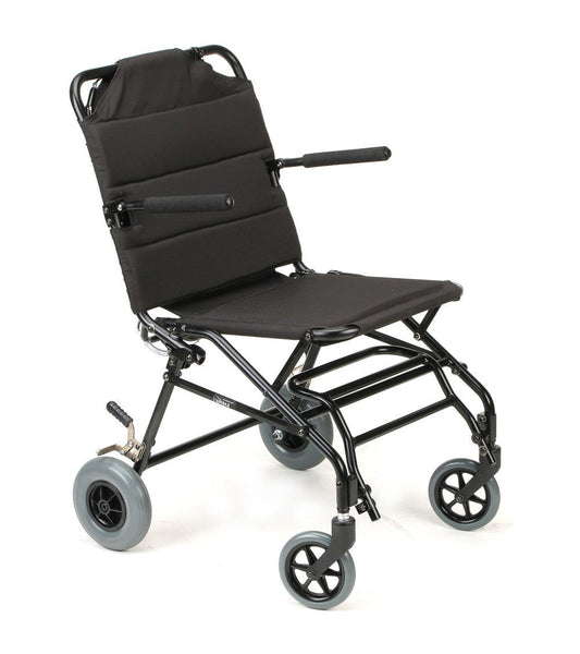 Travel Wheelchair, KM-TV10B – 18 lbs,KMTV10B18B - Wheelchairs electric  -Rollators - Medical supply stores