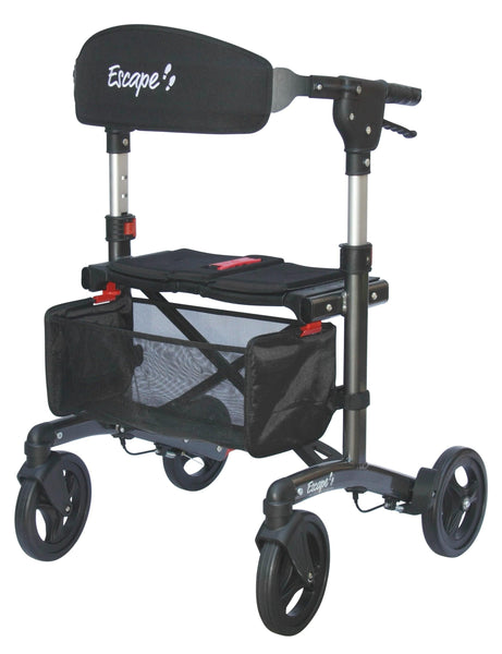 "Escape Rollator - Super Low 19"" seat height, 500-10195 - Wheelchairs electric  -Rollators - Medical supply stores"
