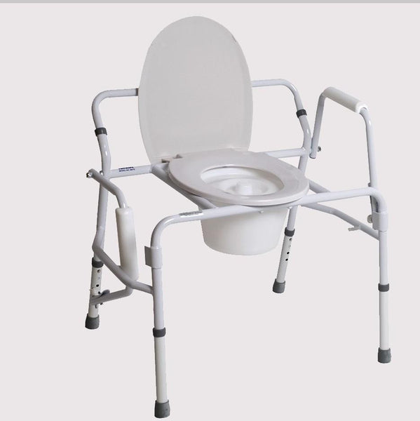 Bariatric Drop Arm Commode , EFFTCM470 - Wheelchairs electric  -Rollators - Medical supply stores