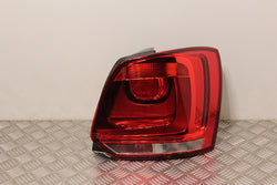 Volkswagen Polo Tail Light Lamp Drivers Side (2014)