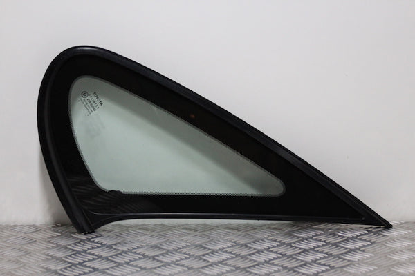 Toyota Avensis Door Quarter Window Glass Rear Drivers Side (1998)
