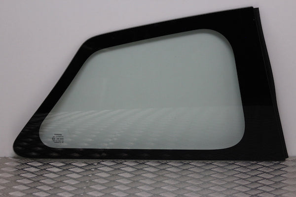 Toyota Yaris Quarter Panel Window Glass Rear Drivers Side (2013)