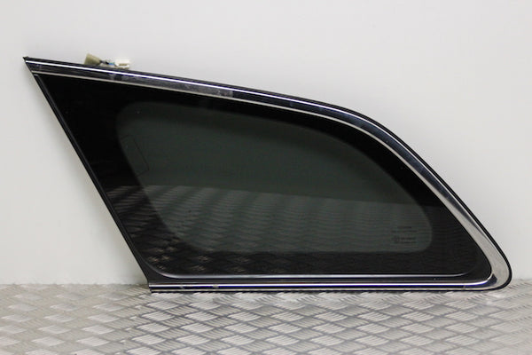 Toyota Avensis Quarter Panel Window Glass Rear Passengers Side (2011)