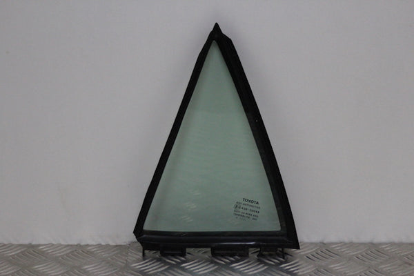 Toyota Avensis Door Quarter Window Glass Rear Passenger Side (2011)