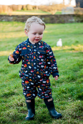 'Little Farm' Children's Boilersuit