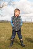'Mini Machines' Reversible Gilet