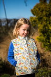 'Animal Adventures' Reversible Gilet