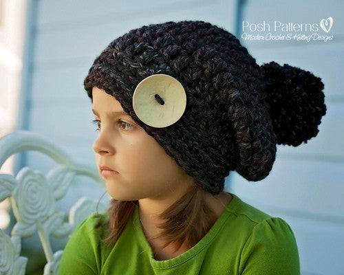 Slouchy Hat Patterns