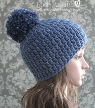 Load image into Gallery viewer, easy crochet hat pattern